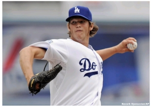 25 year-old Clayton Kershaw leads the NL in ERA and WHIP for the third straight season