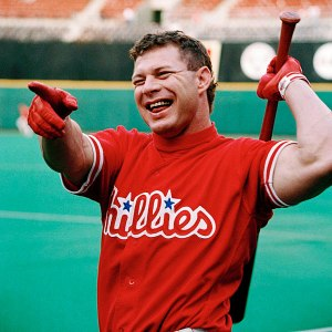 Philadelphia Phillie Lenny Dykstra is a self-admitted pioneer of PED use in baseball