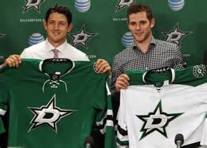The Stars added serious depth down the middle.
