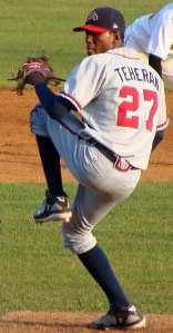Braves rookie sensation Julio Teheran faces the Phils