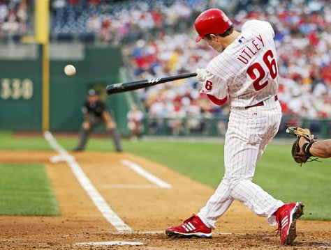 The Phils hope Chase Utley can stay healthy and help lead them back to the top of the NL East in 2014