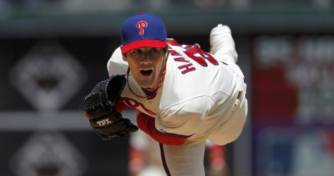 Lefty Ace on Fire - Hamels looks to tie Lee & and Wainwright for 2nd place in the NL with his 15th WG Saturday night