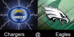 Eagles host the Chargers in their season opener