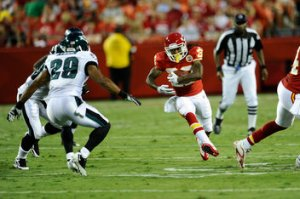 The Eagles take on Andy Reid and the KC Chiefs on Thursday night football.