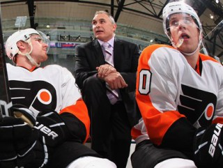 Former Flyer Craig Berube takes over behind the bench.