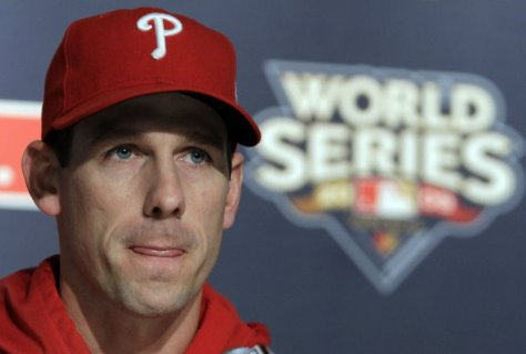 Cliff Lee went 4-0 with a 1.56 ERA in postseason play for the Phils in 2009